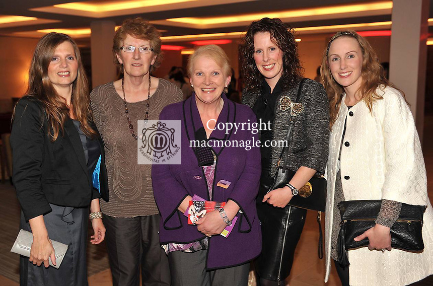 Annette Monch, Margaret Madigan, Mary B Cronin, Helena and Miriam Madigan at the Fossa Community Centre Annual fashion extravaganza at The Hotel Europe Killarney on Wednesday night. Picture: Eamonn Keogh ( MacMonagle, Killarney)