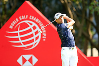 Benjamin Hebert (FRA) on the 3rd tee during the 3rd round of the WGC HSBC Champions, Sheshan Golf Club, Shanghai, China. 02/11/2019.<br /> Picture Fran Caffrey / Golffile.ie<br /> <br /> All photo usage must carry mandatory copyright credit (© Golffile | Fran Caffrey)