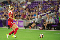 Orlando, FL - Tuesday August 08, 2017: Alyssa Kleiner during a regular season National Women's Soccer League (NWSL) match between the Orlando Pride and the Chicago Red Stars at Orlando City Stadium.