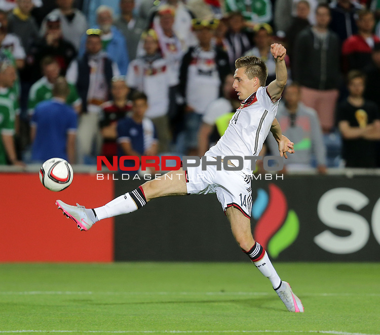 EM 2015 Qualifikationsspiel, Gibraltar vs. Deutschland<br /> Patrick Herrmann (Deutschland)<br /> <br /> <br /> Foto &copy; nordphoto /  Bratic