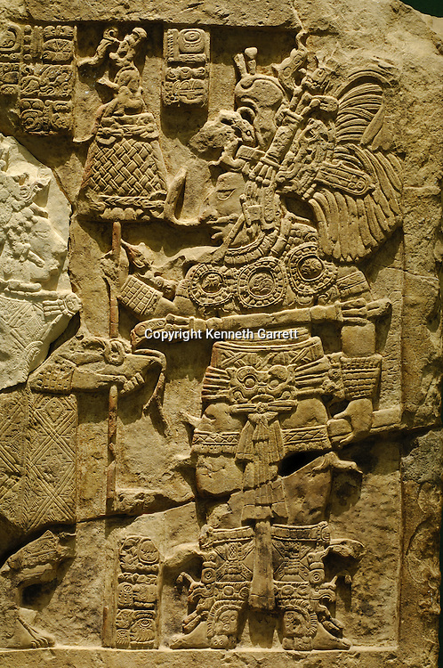Maya Rise and Fall; Mexico City; National Museum of Anthropology and History; INAH; Yaxchilan;   Mayan; Maya; Ancient Cultures, artifact