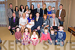 Eimear and Gerald Breen, Ballyseedy Tralee, celebrate the christening of baby Annalise at St. John's Church Tralee, by Fr. Bernard Healy and after at the Carlton Hotel with family and friends on Saturday