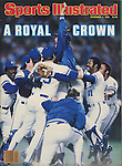 Sports Illustrated KC Royals 1985 WS front cover