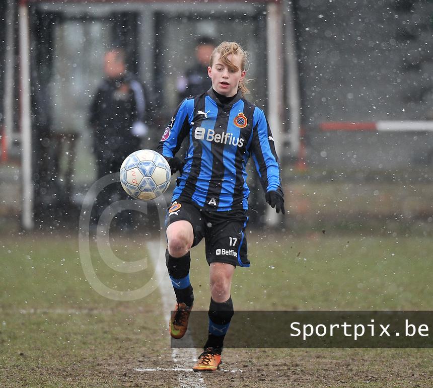 Club Brugge Dames - PEC Zwolle : Yana Haesebroek.foto DAVID CATRY / Vrouwenteam.be