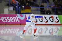 SCHAATSEN: Calgary: Essent ISU World Sprint Speedskating Championships, 28-01-2012, 500m Heren, Benjamin Macé (FRA), ©foto Martin de Jong