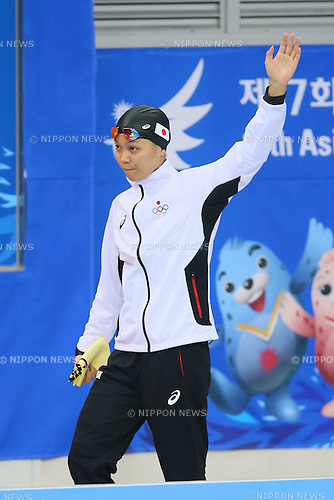 Yayoi Matsumoto (JPN), <br /> SEPTEMBER 26, 2014 - Swimming : <br /> Women's 50m Freestyle Heat <br /> at Munhak Park Tae-hwan Aquatics Center <br /> during the 2014 Incheon Asian Games in Incheon, South Korea. <br /> (Photo by YUTAKA/AFLO SPORT)