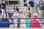 CHAD PILSTER &bull;&nbsp;Hays Daily News<br /> <br /> Thomas More Prep-Marian's on Friday, September 20, 2013, at Lewis Field Stadium at Fort Hays State University in Hays, Kansas. Thomas More Prep-Marian lost to Larned High School in 41-8 in football.