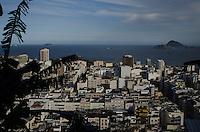 Rio de Janeiro-Rj 30/04/2014-PAVAO PAVAOZINHO -Vista de cima  morro Pavao Pavaozinho nessa tarde de quarta feira. Foto-Tércio Teixeira /Brazil Photo Press