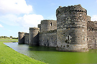 "Pictured: Beaumaris Castle in north Wales.<br /> Re: A six-year-old boy is delighted after his favourite toy was found after being stolen by a seagull on Anglesey.<br /> Jack Carr was inseparable from his toy owl Cuckoo, who eats dinner, sleeps in a special bed next to him and goes on holiday with the family.<br /> But he was left heartbroken after it was snatched by a seagull close to the family home in Beaumaris.<br /> In a heart-warming tale, the pair are set to be reunited after a social media appeal sparked a search for Cuckoo.<br /> Feral kitten named Sky after being dropped by seagull<br /> Jack's mum Nancy Carr said he was ""made up"" Cuckoo - who has been his favourite toy since he was two - had been found in a garden after being stolen by the gull."