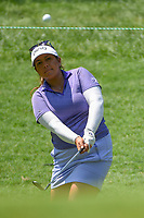 Lizette Salas (USA) chips on to 2 during round 4 of the U.S. Women's Open Championship, Shoal Creek Country Club, at Birmingham, Alabama, USA. 6/3/2018.<br /> Picture: Golffile | Ken Murray<br /> <br /> All photo usage must carry mandatory copyright credit (&copy; Golffile | Ken Murray)