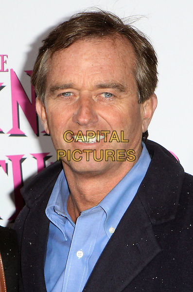 """ROBERT F. KENNEDY JR..""""The Pink Panther 2"""" World Premiere held at the Ziegfeld Theater, New York, NY, USA..February 3rd, 2009.headshot portrait blue shirt collar .CAP/ADM/PZ.©Paul Zimmerman/AdMedia/Capital Pictures."""