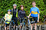 Just finished a successful cycle for Bru Columbanus<br /> L-R John Murphy with his dad Tom Murphy from Beaufort and Elma Griffin with her son Conor Griffin from Castlemaine.