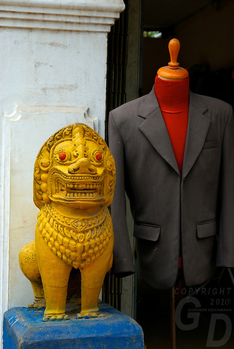 Siam Reap, Cambodia, The Tailor shop