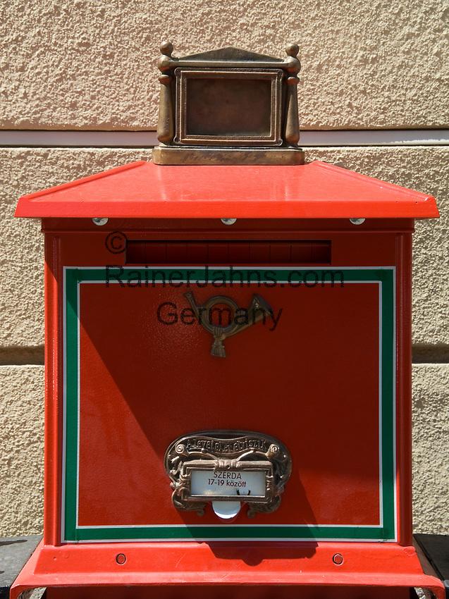HUN, Ungarn, Budapest: Briefkasten | HUN, Hungary, Budapest: letter-box