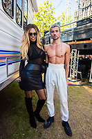 Laverne Cox and Saro on Day Three of LA Pride in West Hollywood, California on June 9, 2019. <br /> CAP/MPI/IS/CT<br /> ©CT/IS/MPI/Capital Pictures