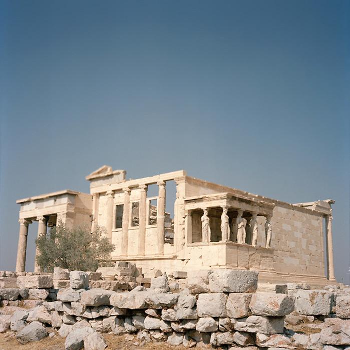 Temple of Athena, Parthenon area, Athens, Greece