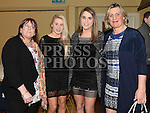 valerie and Rebecca Levins and Gemma and Evelyn Sheeran pictured at the Mattock Rangers Awards night in The Grove House Dunleer. Photo:Colin Bell/pressphotos.ie