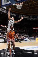 Dubljevic vs Ventura<br /> Liga Endesa ACB - 2014/15<br /> J14<br /> Valencia Basket vs Fiatc Joventut
