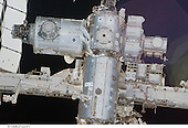 A close-up view of a portion of the International Space Station is featured in this image photographed by an STS-130 crew member on space shuttle Endeavour after the station and shuttle began their post-undocking relative separation. Undocking of the two spacecraft occurred at 7:54 p.m. (EST) on Friday, February 19, 2010. The newly-installed Tranquility node and Cupola are visible at top left..Credit: NASA via CNP