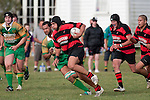 Nui Wellington makes good yards upfield. Counties Manukau Premier Club Rugby Game of the Week between Drury & Papakura, played at Drury Domain on Saturday Aprill 11th, 2009..Drury won 35 - 3 after leading 15 - 5 at halftime.