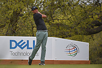 Tony Finau (USA) watches his tee shot on 10 during day 3 of the World Golf Championships, Dell Match Play, Austin Country Club, Austin, Texas. 3/23/2018.<br /> Picture: Golffile | Ken Murray<br /> <br /> <br /> All photo usage must carry mandatory copyright credit (&copy; Golffile | Ken Murray)