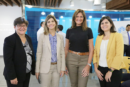 Marisol Pagés, Ana María Ramos, Soledad Carballo y Maricarmen Ramos..