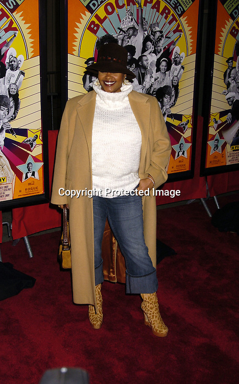 "Jill Scott ..at The Premiere of ""Dave Chappelle's Block Party"" ..on February 28, 2006 at the Loews 34th Street Theatre in New York City . ..Photo by Robin Platzer, Twin Images"
