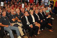 ZEILEN: GROU: 29-07-2016, SKS Skûtsjesilen loting Grou, ©foto Martin de Jong