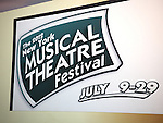 Performing at the New York Musical Theatre Festival at the NYMF Hub in Times Square, New York on 7/3/2012.