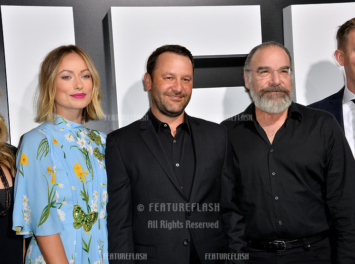 LOS ANGELES, CA. September 13, 2018: Olivia Wilde, Dan Fogelman &amp; Mandy Patinkin at the premiere for &quot;Life Itself&quot; at the Cinerama Dome.<br /> Picture: Paul Smith/Featureflash