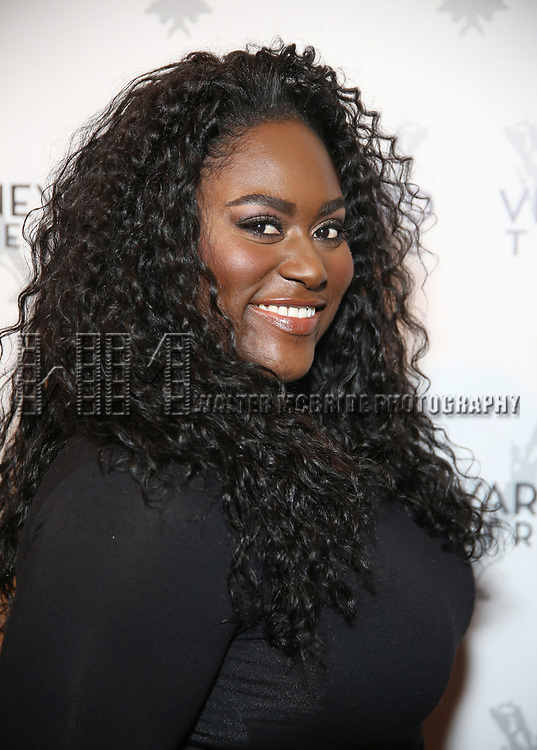 Danielle Brooks attends the Vineyard Theatre 2017 Gala at the Edison Ballroom on March 14, 2017 in New York City.