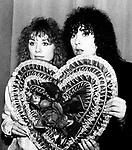 Heart 1980 Nancy Wilson and Ann Wilson.© Chris Walter.