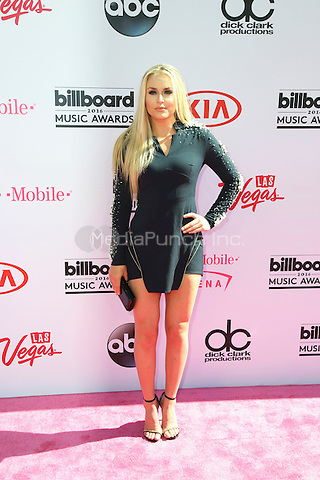 LAS VEGAS, NV - MAY 22: Lindsey Vonn attends the 2016 Billboard Music Awards at T-Mobile Arena on May 22, 2016 in Las Vegas, Nevada. Credit: Parisa/MediaPunch.