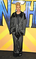 Emeli Sande at the &quot;Black Panther&quot; European film premiere, Hammersmith Apollo (Eventim Apollo), Queen Caroline Street, London, England, UK, on Thu 08 February 2018.<br /> CAP/CAN<br /> &copy;CAN/Capital Pictures