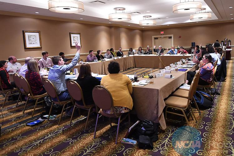 17 JAN 2017:  The NCAA Division III SAAC meeting takes place during the 2017 NCAA Convention takes place at the Gaylord Opryland Resort & Convention Center in Nashville, TN. Justin Tafoya/NCAA Photos