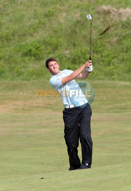 Rory McNamara of Headfort Golf Club hitting onto the 3rd green on day 2 of the 2010 East of Ireland Amateur Golf Competition in Co.Louth Golf Club...Photo NEWSFILE/Jenny Matthews.(Photo credit should read Jenny Matthews/NEWSFILE)....This Picture has been sent you under the condtions enclosed by:.Newsfile Ltd..The Studio,.Millmount Abbey,.Drogheda,.Co Meath..Ireland..Tel: +353(0)41-9871240.Fax: +353(0)41-9871260.GSM: +353(0)86-2500958.email: pictures@newsfile.ie.www.newsfile.ie.FTP: 193.120.102.198.