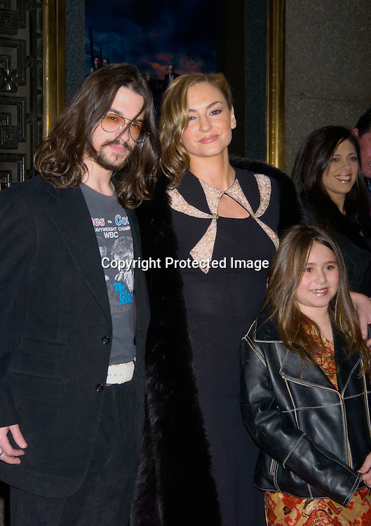 "Drea de Mateo and Shooter Jennings..at the World Premiere of the fifth season of the HBO series ..""The Sopranos"" on March 2, 2004 at Radio City Music Hall. Photo by Robin Platzer, Twin Images"