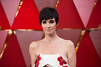 Paz Vega arrives for the live ABC Telecast of The 90th Oscars&reg; at the Dolby&reg; Theatre in Hollywood, CA on Sunday, March 4, 2018.<br /> *Editorial Use Only*<br /> CAP/PLF/AMPAS<br /> Supplied by Capital Pictures