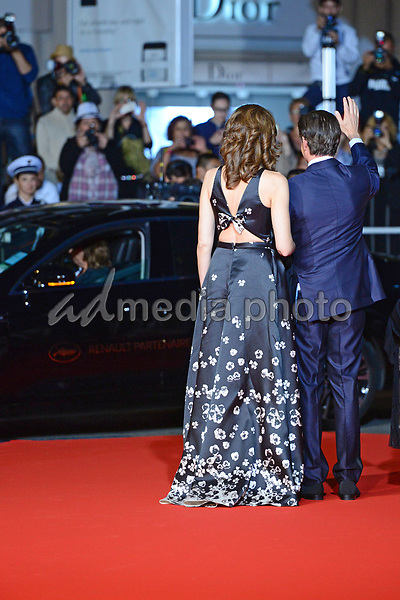 """25 May 2017 - Cannes, France - Kyle MacLachlan, Desiree Gruber. """"Twin Peaks"""" Premiere - The 70th Annual Cannes Film Festival. Photo Credit: Jan Sauerwein/face to face/AdMedia"""