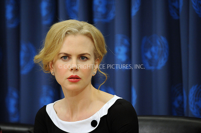 WWW.ACEPIXS.COM . . . . . ....November 25 2008, New York City....Actress Nicole Kidman spoke at the United Nations on the subject of violence against women in her roll as goodwill ambassador for the U.N. Development Fund for Women.....Please byline: KRISTIN CALLAHAN - ACEPIXS.COM.. . . . . . ..Ace Pictures, Inc:  ..(646) 769 0430..e-mail: info@acepixs.com..web: http://www.acepixs.com