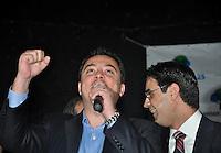 SAO PAULO, SP, 17 DE MAIO 2012 - DEMOCRATAS ANUNCIA APOIO AO CANDIDATURA DE JOSE SERRA -  Eli Correa Jr. durante evento em que o Democratas anuncia apoio a candidatura de Jose Serra no Clube Homs na regiao da Avenida Paulista, nesta quinta-feira, 17. (FOTO: THAIS RIBEIRO / BRAZIL PHOTO PRESS).