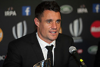 Dan Carter of New Zealand at the World Rugby Awards 2015  - 01/11/2015 - Battersea Evolution, London<br /> Mandatory Credit: Rob Munro/Stewart Communications