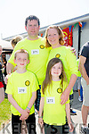 l-r  John Quliter, Rosarie Quilter, Ben Quilter and Ciara Quilter at the  Donal Walsh Spa 6k Challenge and family fun day at Spa NS on Sunday