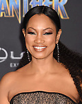 HOLLYWOOD, CA - JANUARY 29: Actor Garcelle Beauvais attends the premiere of Disney and Marvel's 'Black Panther' at  the Dolby Theater on January 28, 2018 in Hollywood, California.