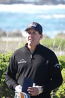 Phil Mickelson (USA) at Monterey Peninsula during the second round of the AT&T Pro-Am, Pebble Beach, Monterey, California, USA. 06/02/2020<br /> Picture: Golffile | Phil Inglis<br /> <br /> <br /> All photo usage must carry mandatory copyright credit (© Golffile | Phil Inglis)