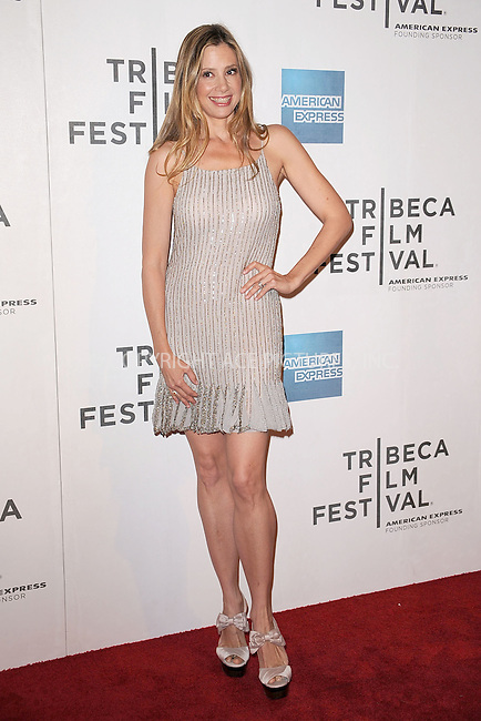 WWW.ACEPIXS.COM . . . . . .April 22, 2011...New York City...Mira Sorvino attends the premiere of 'Angel's Crest' during the 2011 Tribeca Film Festival at BMCC Tribeca PAC on April 22, 2011 in New York City....Please byline: KRISTIN CALLAHAN - ACEPIXS.COM.. . . . . . ..Ace Pictures, Inc: ..tel: (212) 243 8787 or (646) 769 0430..e-mail: info@acepixs.com..web: http://www.acepixs.com .