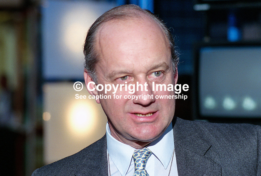 Sir John Cope, MP, Conservative Party, UK, 199510104.<br />