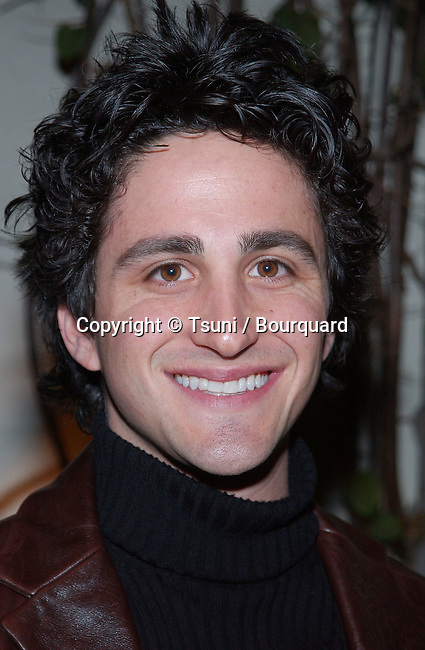 Joshua Ackerman (Random Years)  arriving at the television critics association closing party with the UPN show at the Twin Palms restaurant in Pasadena, Los Angeles. January 14, 2002. AckermanJoshua_RandomY05.jpg