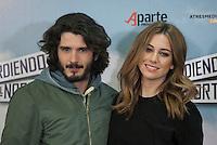 Actor Yon Gonzalez and actress Blanca Suarez pose during `Perdiendo el Norte´ film presentation photocall in Madrid, Spain. March 03, 2015. (ALTERPHOTOS/Victor Blanco) /NORTEphoto.com