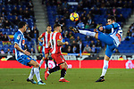 League Santander 2017-2018 - Game: 15.<br /> RCD Espanyol vs Girona FC: 0-1.<br /> Cristian Portu vs Hermoso.